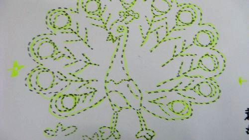 线描画的线条有哪些内容|线描画的线条有哪些版面设计